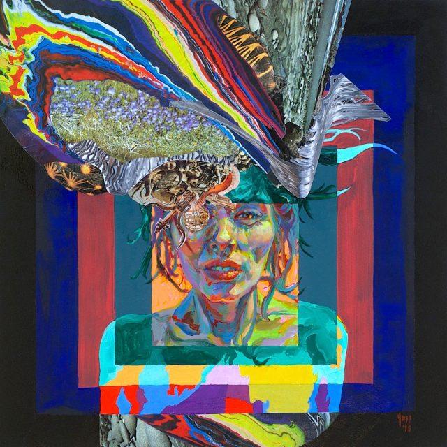 Jazzminh Moore Headdress_Detritus